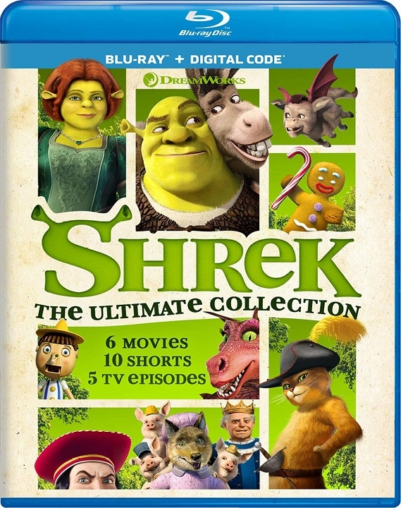 Shrek: The Ultimate Collection (Blu-ray)(Region Free)
