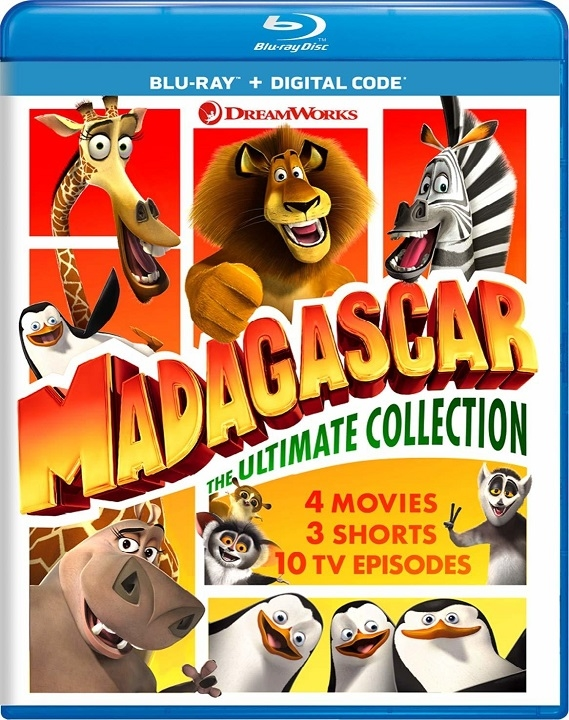 Madagascar: The Ultimate Collection (Blu-ray)(Region Free)