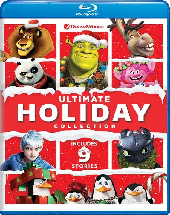 DreamWorks Ultimate Holiday Collection (Blu-ray)(Region Free)