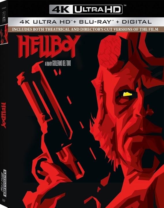 Hellboy (2004)(4K Ultra HD Blu-ray)(Pre-order / Oct 15)
