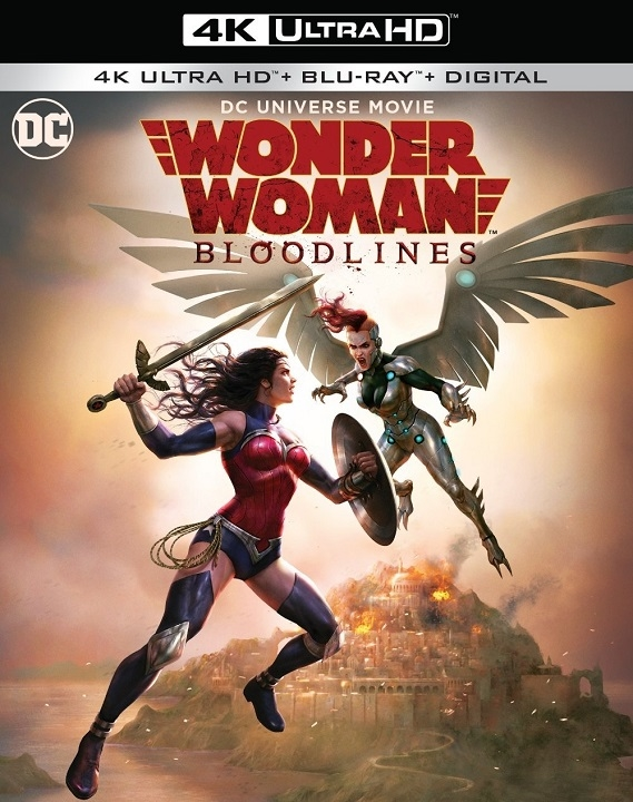 Wonder Woman: Bloodlines (4K Ultra HD Blu-ray)