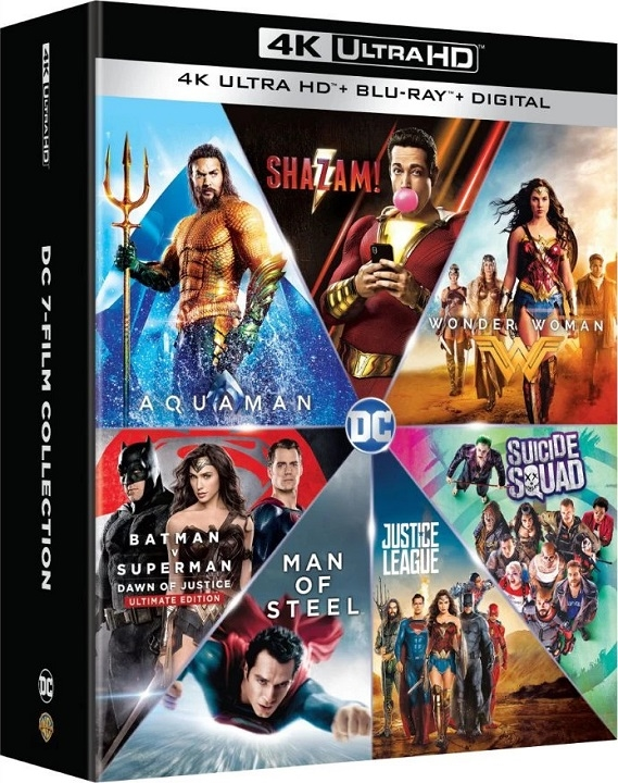 DC 7-Film Collection (4K Ultra HD Blu-ray)(Pre-order / Oct 1)