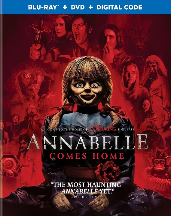 Annabelle: Comes Home (Blu-ray)(Region Free)