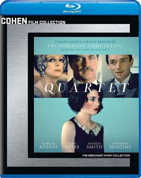 Quartet (Cohen Film Collection)(Blu-ray)(Region A)(Pre-order / Sep 24)