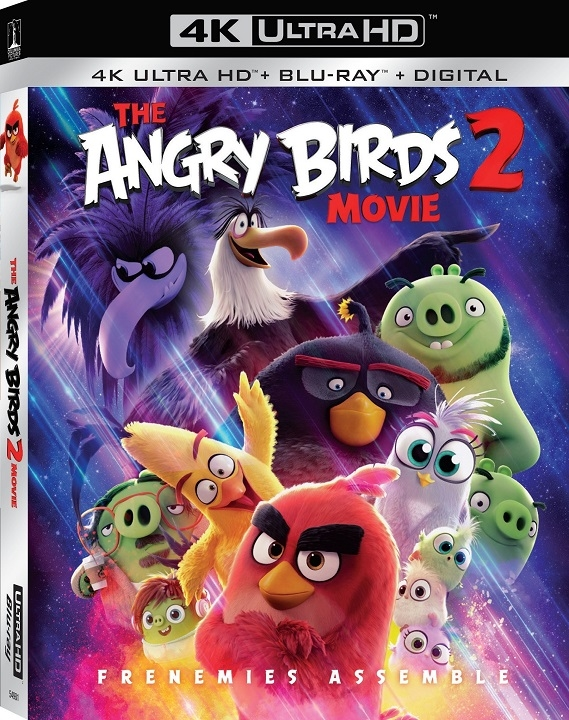 The Angry Birds Movie 2 (4K Ultra HD Blu-ray)(Pre-order / TBA)