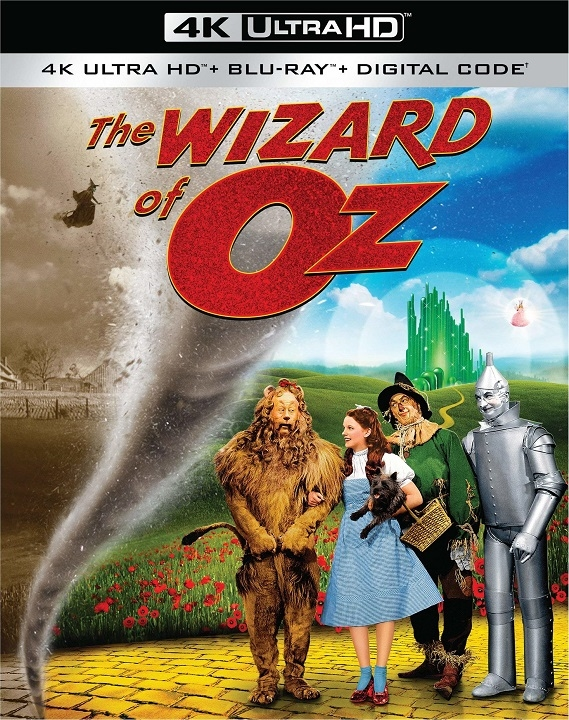 The Wizard of Oz 4K (1939) Ultra HD Blu-ray