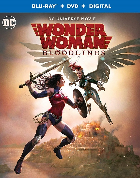 Wonder Woman: Bloodlines (Blu-ray)(Region Free)