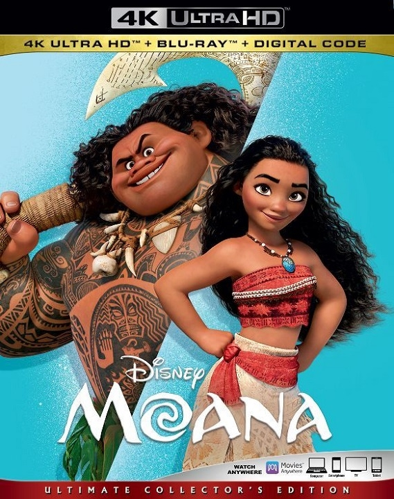 Moana in 4K Ultra HD Blu-ray
