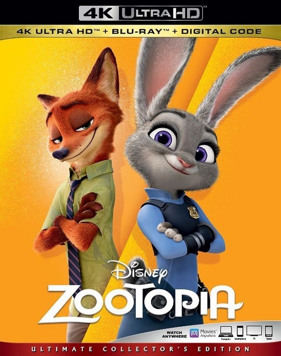 Zootopia in 4K Ultra HD Blu-ray - HD MOVIE SOURCE