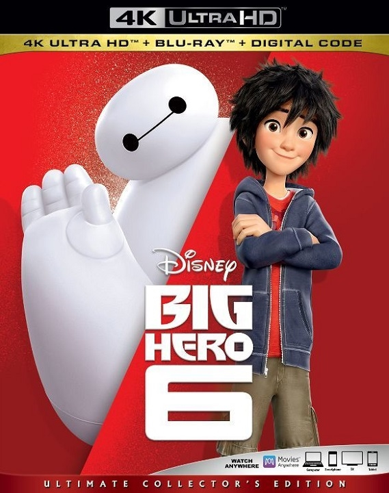 Big Hero 6 in 4K Ultra HD Blu-ray - HD MOVIE SOURCE