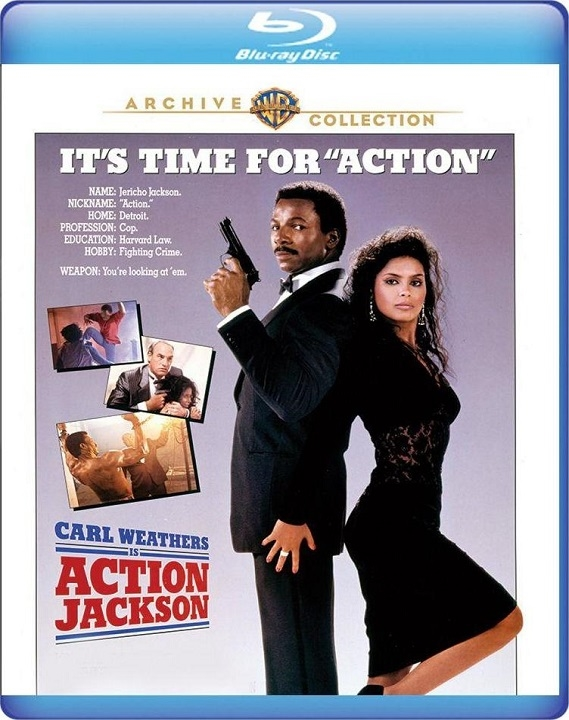 Action Jackson (Blu-ray)(Region Free)