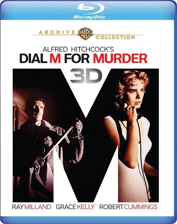 Dial M for Murder 3D (Blu-ray)(Region Free)