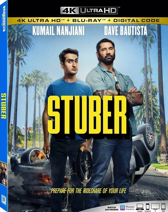 Stuber (4K Ultra HD Blu-ray)