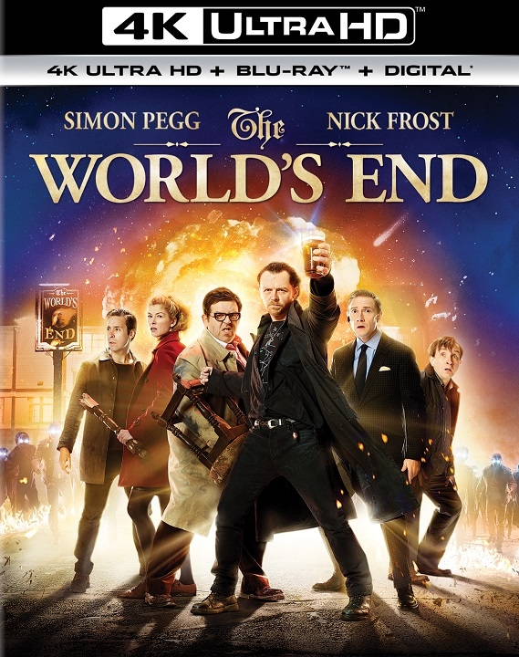 The World's End (4K Ultra HD Blu-ray)