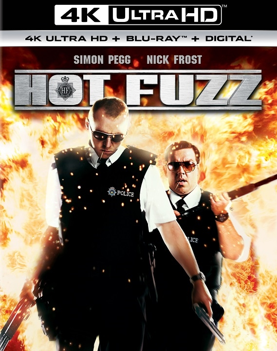 Hot Fuzz (4K Ultra HD Blu-ray)
