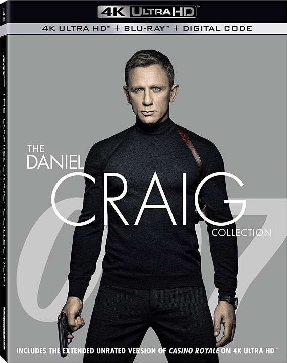 007: The Daniel Craig Collection 4K (2006-2015) Ultra HD