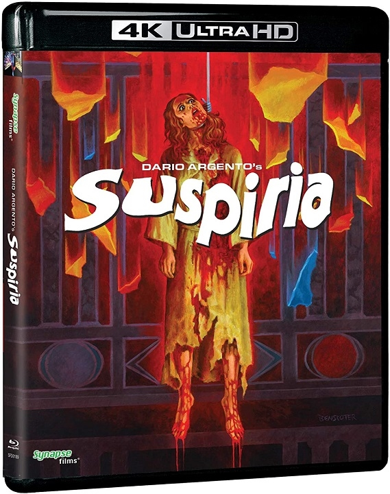 Suspiria (1977)(4K Ultra HD Blu-ray)(Pre-order / Nov 19)