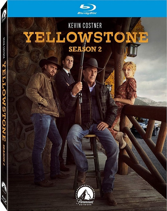 Yellowstone: Season 2 (Blu-ray)(Region Free)