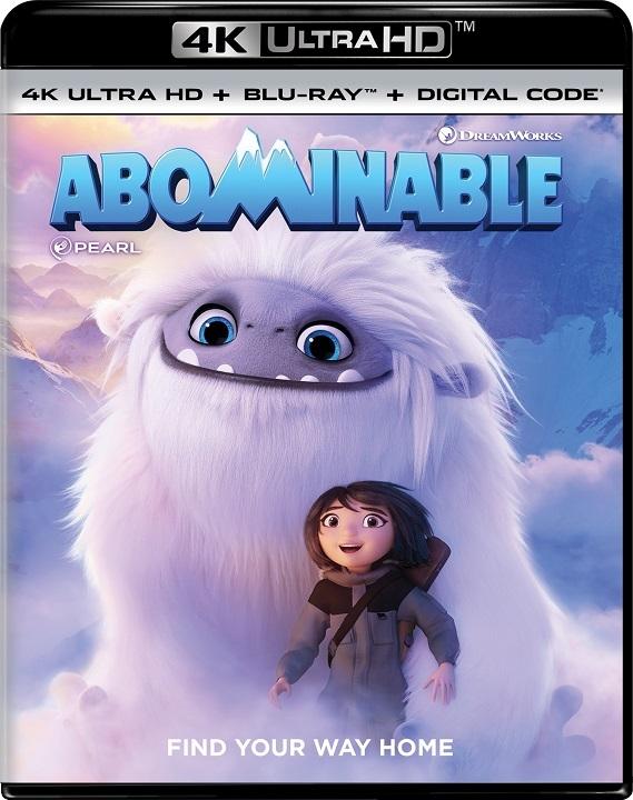 Abominable (4K Ultra HD Blu-ray)(Pre-order / Dec 17)