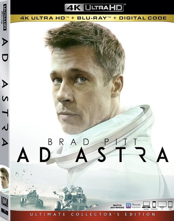 Ad Astra (4K Ultra HD Blu-ray)(Pre-order / Dec 17)