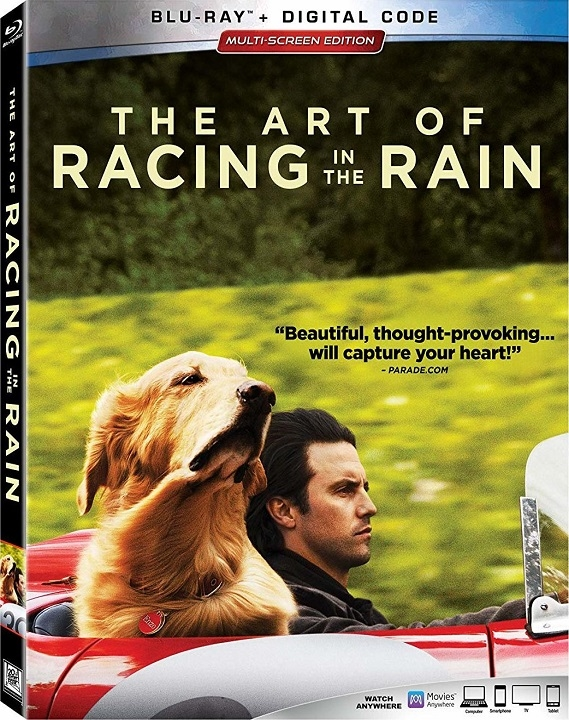 The Art of Racing in the Rain (Blu-ray)(Region Free)