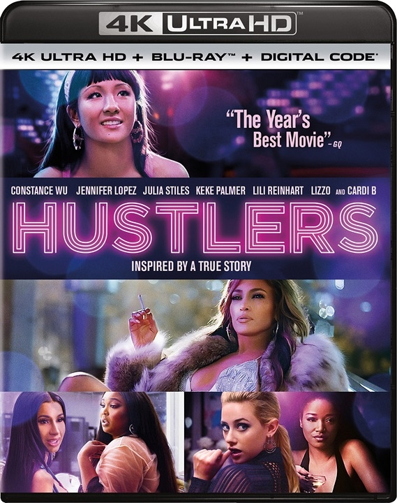 Hustlers (4K Ultra HD Blu-ray)(Pre-order / Dec 10)