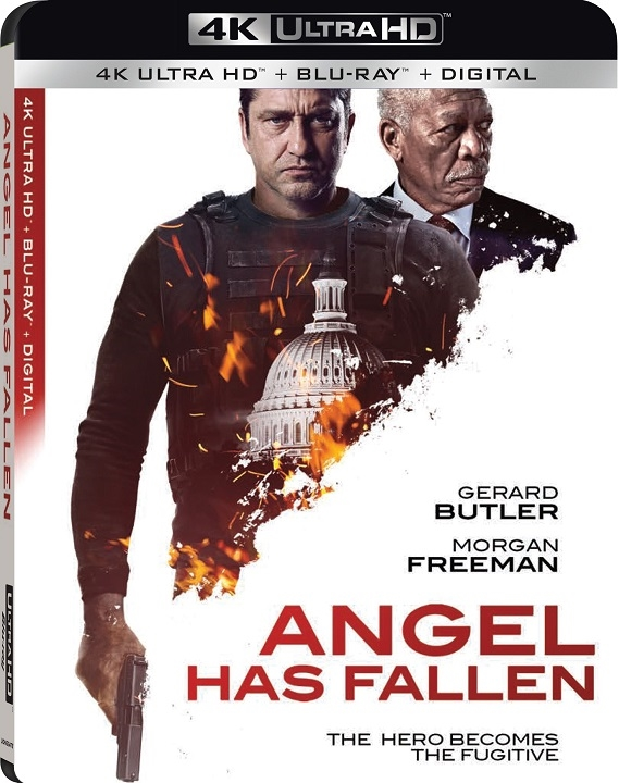 Angel Has Fallen 4K (2019) UHD Blu-ray