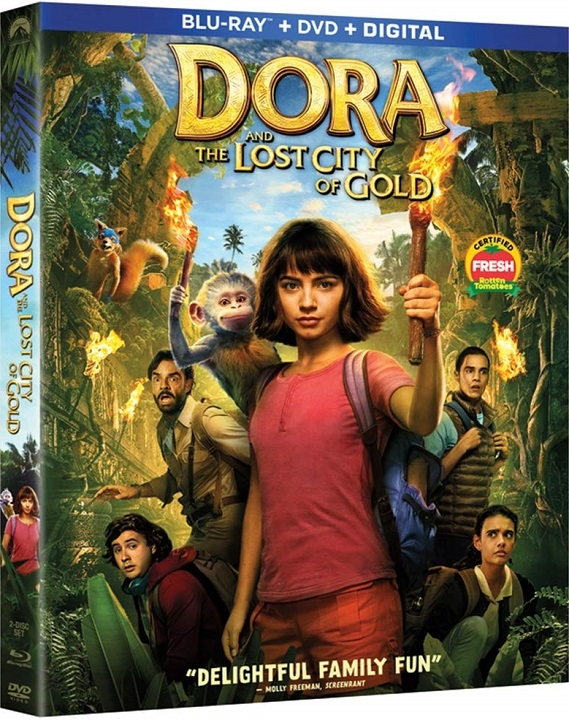 Dora and the Lost City of Gold (Blu-ray)(Region Free)