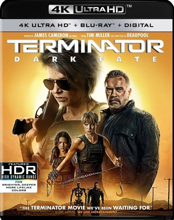 Terminator: Dark Fate (4K Ultra HD Blu-ray)(Pre-order / TBA)