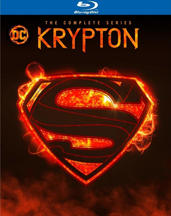 Krypton: The Complete Series (Seasons 1 and 2)(Blu-ray)(Region Free)(Pre-order / Jan 14)