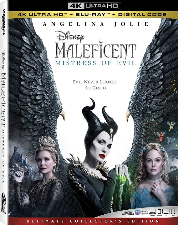 Maleficent: Mistress of Evil in 4K Ultra HD Blu-ray