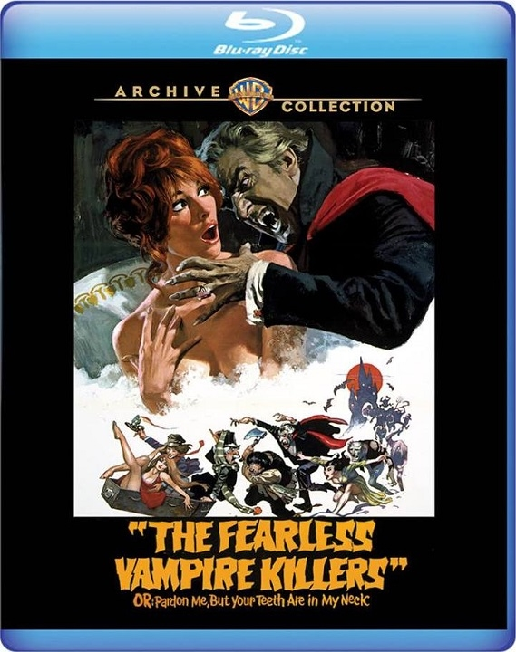 The Fearless Vampire Killers (Warner Archive Collection)(Blu-ray)(Region Free)