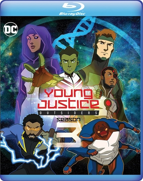 Young Justice: Outsiders: Season 3 (Blu-ray)(Region Free)