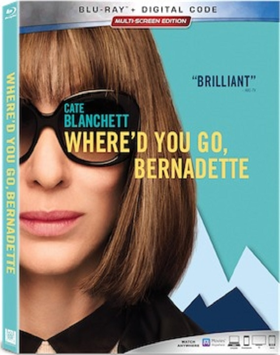 Where'd You Go, Bernadette (Blu-ray)(Region A)