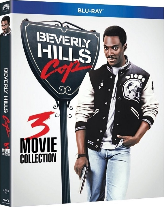 Beverly Hills Cop 3 Movie Collection (Blu-ray)(Region A)(Pre-order / Jan 14)