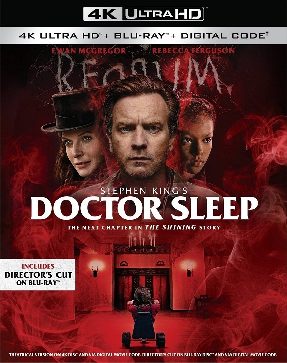 Doctor Sleep (4K Ultra HD Blu-ray)(Pre-order / TBA)