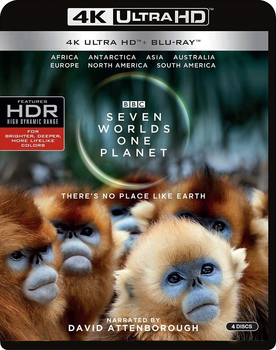 Seven Worlds, One Planet (BBC)(4K Ultra HD Blu-ray)(Pre-order / Feb 11)