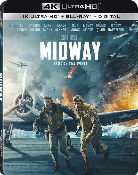 Midway (2019)(4K Ultra HD Blu-ray)(Pre-order / Feb 18)