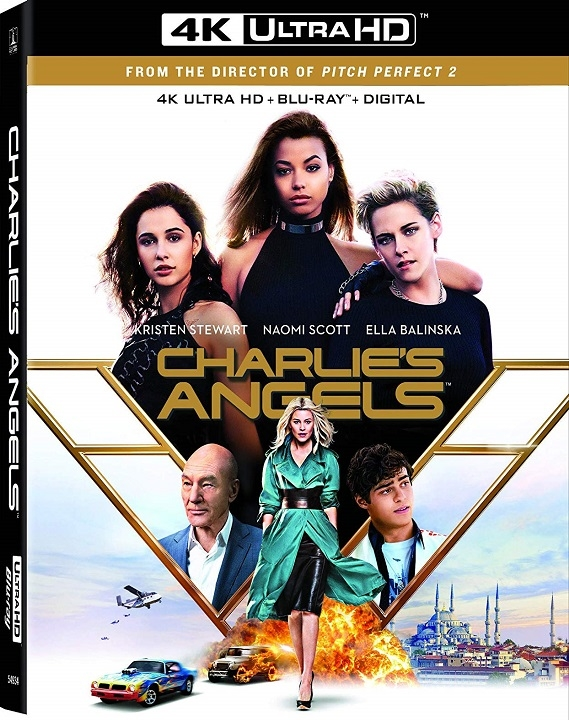 Charlie's Angels (2019)(IMAX Enhanced)(4K Ultra HD Blu-ray)