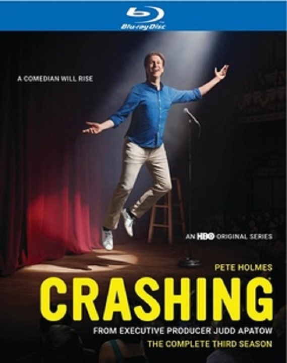 Crashing: The Complete Third Season (Blu-ray)(Region Free)(Pre-order / Mar 17)