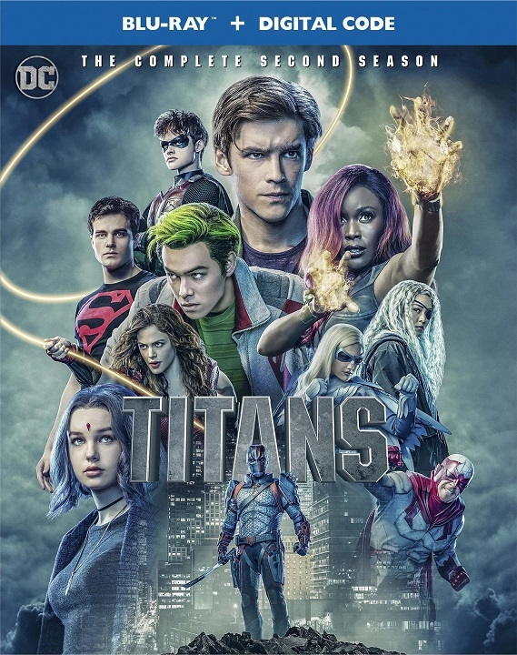 Titans: The Complete Second Season (Blu-ray)(Region Free)