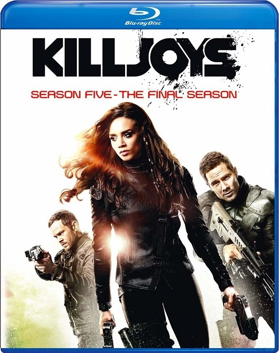 Killjoys: Season Five (The Final Season)(Blu-ray)(Region Free)