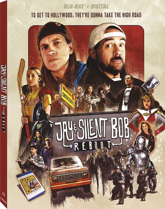 Jay and Silent Bob Reboot (2019) Blu-ray