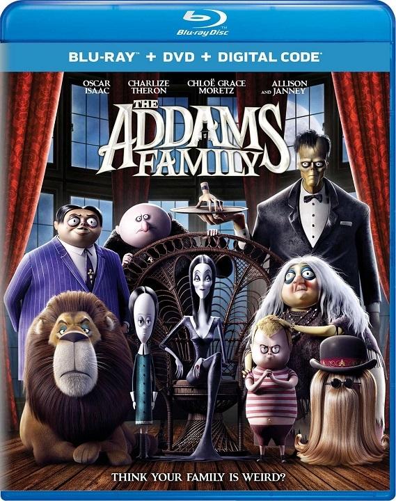 The Addams Family (2019)(Blu-ray)(Region A)(Pre-order / Jan 21)