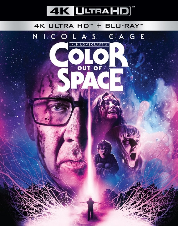 Color Out of Space (2019)(4K Ultra HD Blu-ray)(Pre-order / Feb 25)