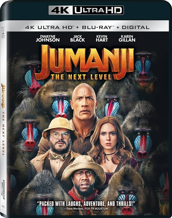 Jumanji 2: The Next Level (4K Ultra HD Blu-ray)(Pre-order / TBA)