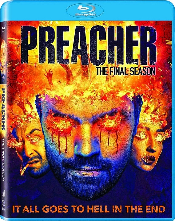 Preacher: Season Four (Final Season)(Blu-ray)(Region Free)(Pre-order / Feb 11)