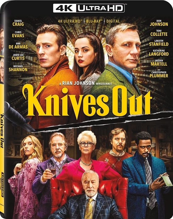 Knives Out (4K Ultra HD Blu-ray)(Pre-order / TBA)