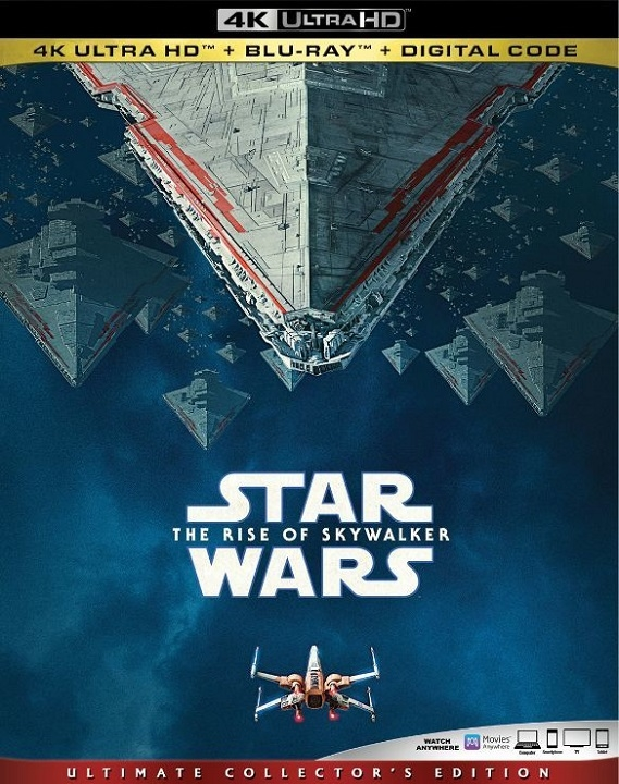 Star Wars: The Rise of Skywalker 4K UHD Blu ray (2019)