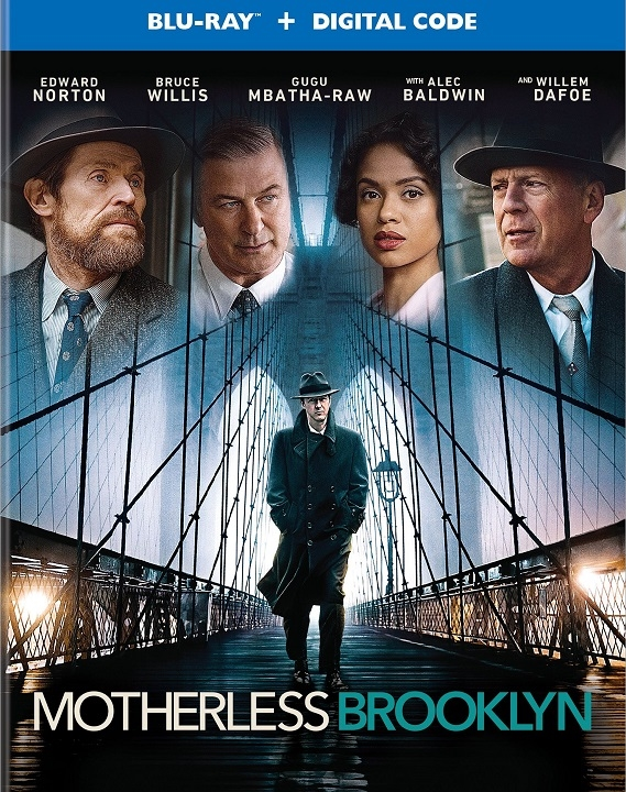 Motherless Brooklyn (Blu-ray)(Region Free)(Pre-order / Jan 28)